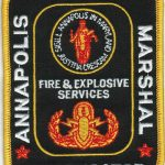 Annapolis Fire and Explosive Services Patch