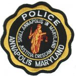 Annapolis Maryland Police Patch 1