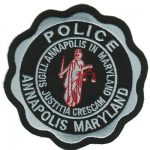 Annapolis Maryland Police Patch 2