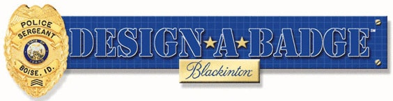Blackington Design-A-Badge Button