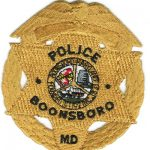 Boonsboro Maryland Police Officer Badge Patch