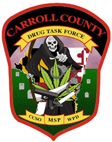 Carroll County Drug Task Force Patch