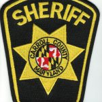 Carroll County Maryland Sheriff Patch