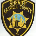 Caswell County North Carolina Sheriff Patch