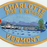 Charlotte Vermont Fire and Rescue Patch