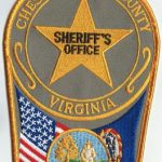 Chesterfield County Virginia Sheriff's Office Patch