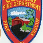 Convey Fire Department Fire and Rescue Patch