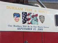 Durham Fire & Rescue Decal