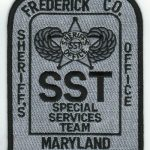 Frederick County Maryland Sheriff's Office Special Services Team Patch