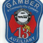 Gamber & Community Fire Company 13 Auxiliary Patch