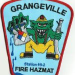 Grangeville Fire Hazmat Patch