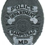 Hampstead Maryland Police Department Badge Patch