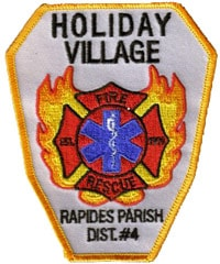 Holiday Village Fire Rescue, Rapides Parish Decal
