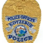Kotzebue Alaska Police Officer Badge Patch