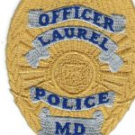 Laurel Maryland Police Officer Badge Patch