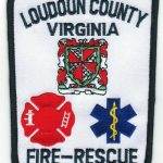 Loudoun County Virginia Fire and Rescue Patch
