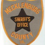 Mecklenburg County Virginia Sheriff's Office Patch