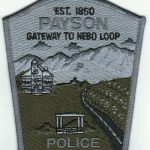 Payson Police Patch