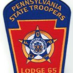 Pennsylvania State Troopers Lodge 65 Patch