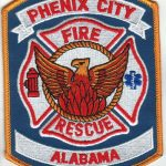 Phenix City Alabama Fire and Rescue Patch