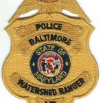 State of Maryland Baltimore Watershed Ranger Police Badge Patch
