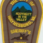 The City of Waynesboro Virginia Sheriff's Office Patch