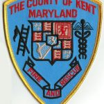 The County of Kent Maryland Fire and Rescue Patch