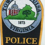 Town of Louisa Virginia Police Patch