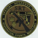 Washington County Maryland Special Response Team Patch 1