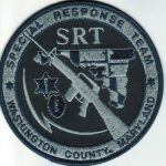Washington County Maryland Special Response Team Patch 2