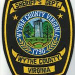 Wythe County Virginia Sheriff's Department Patch